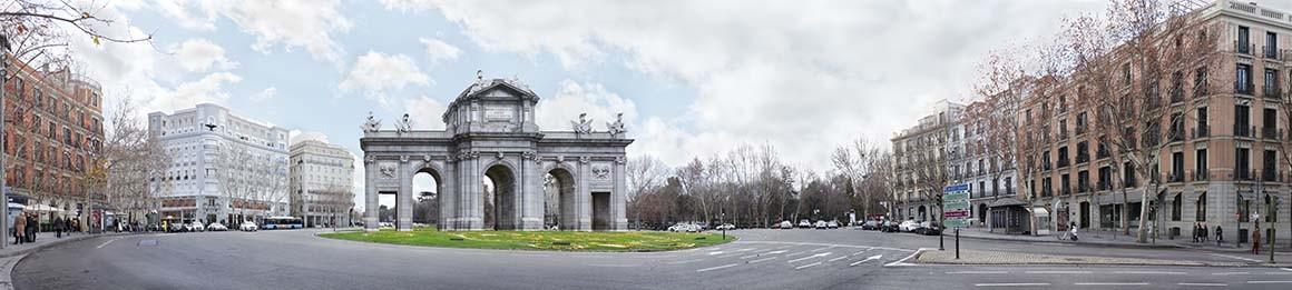 Fotografía de la Puerta de Alcalá