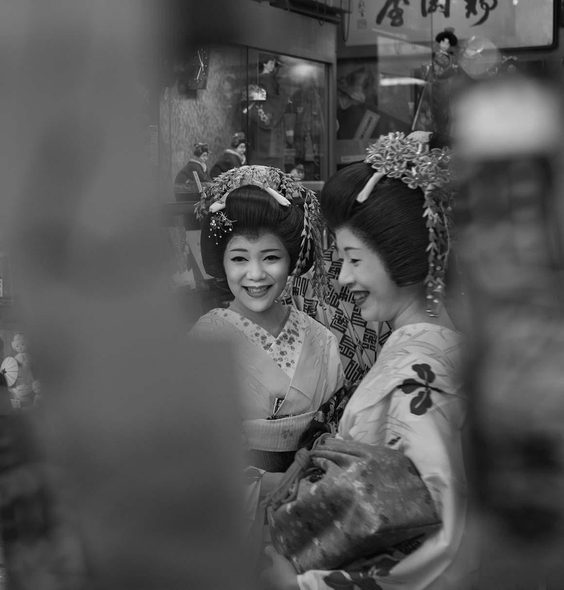 Sonrisa de geishas
