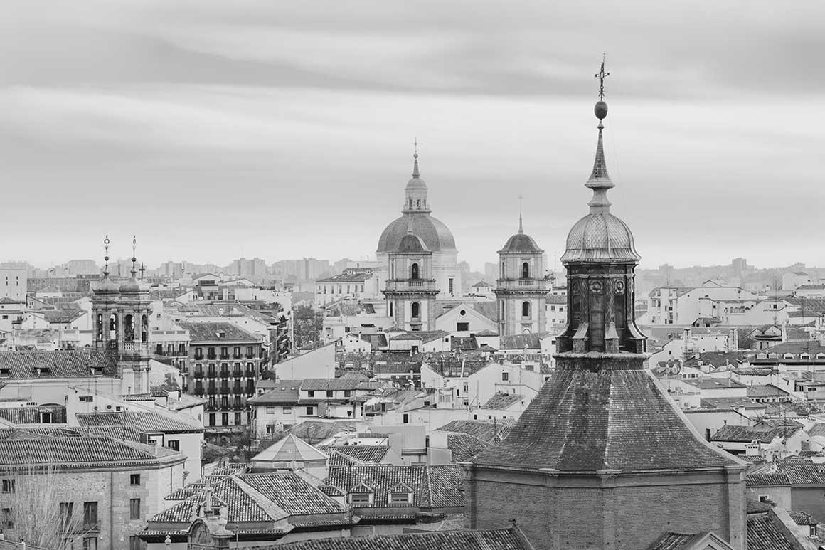Fotografía de Madrid, Panorámica