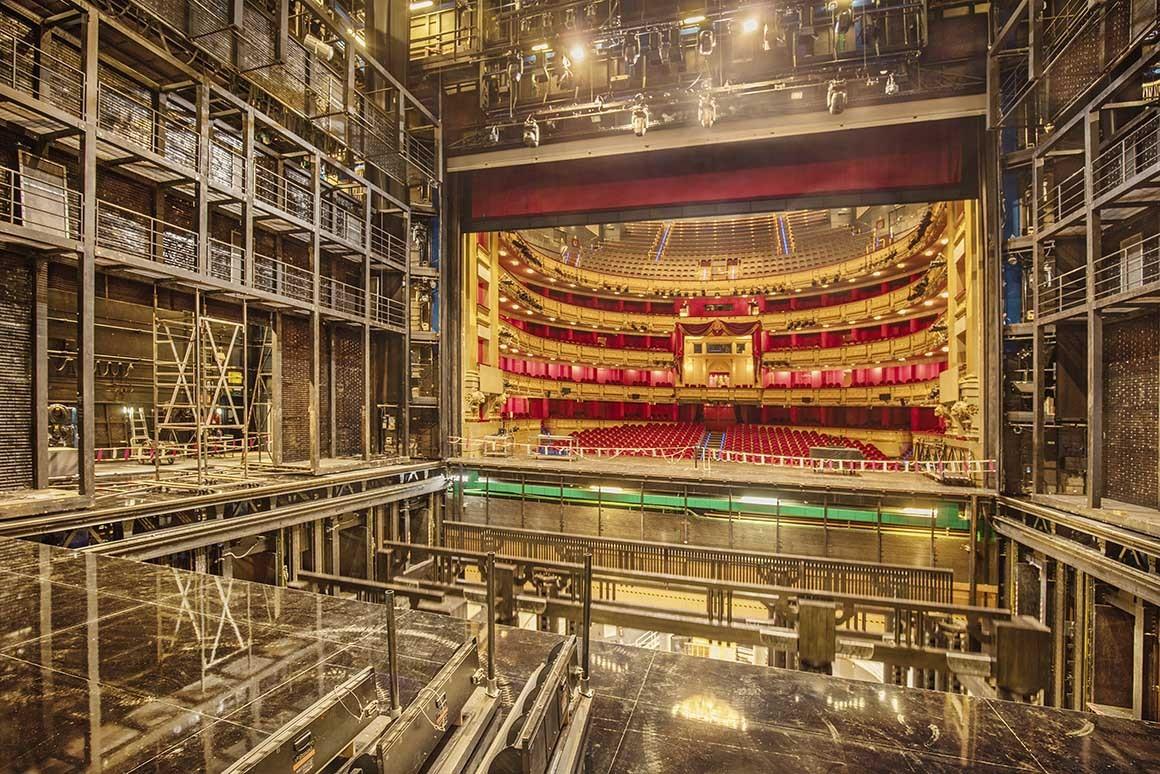 Teatro Real desde el backstage
