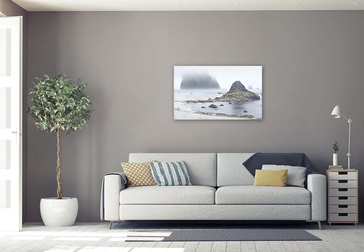 Islote en la Niebla 55x90