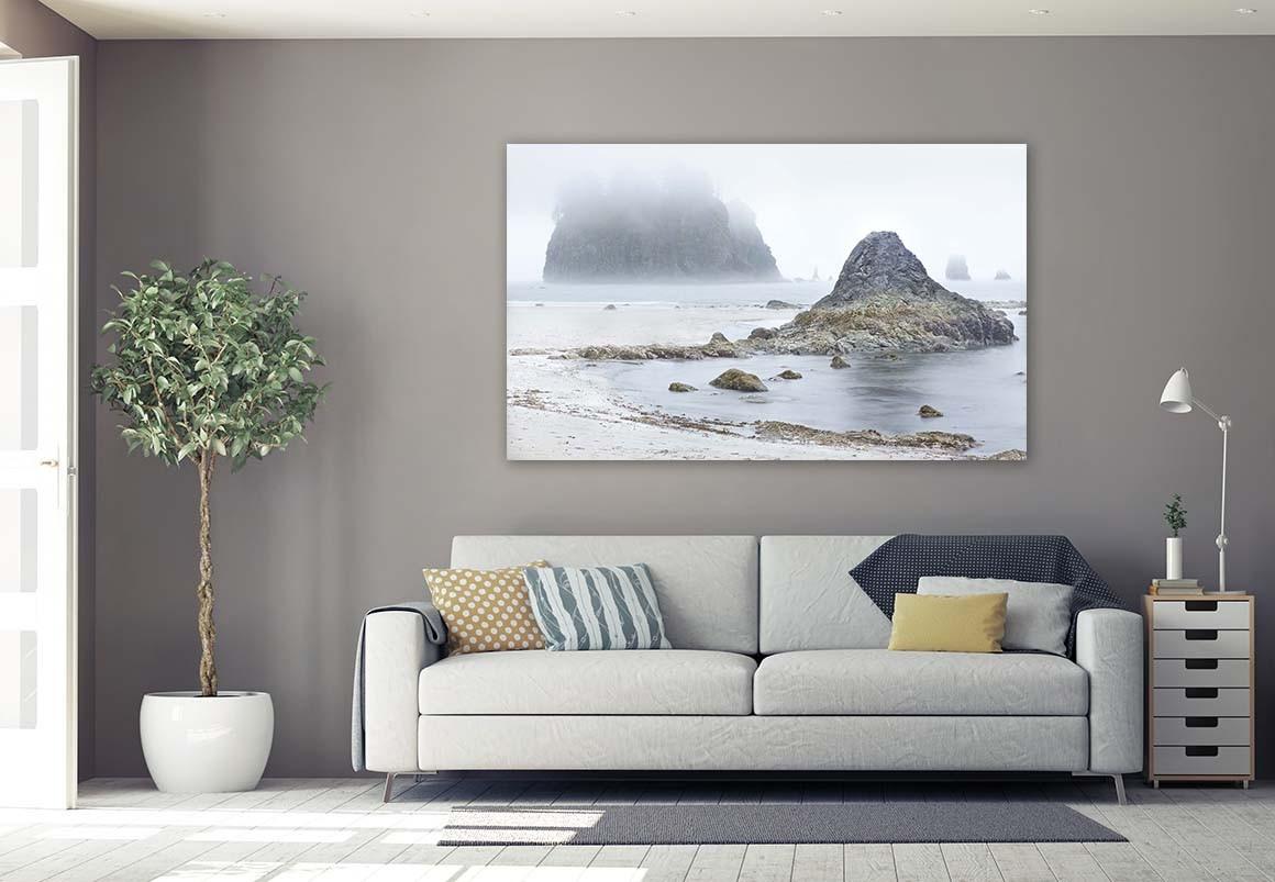 Islote en la Niebla 91x150