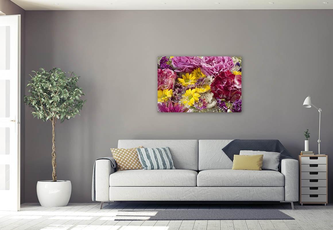 Flores Sobre Hielo