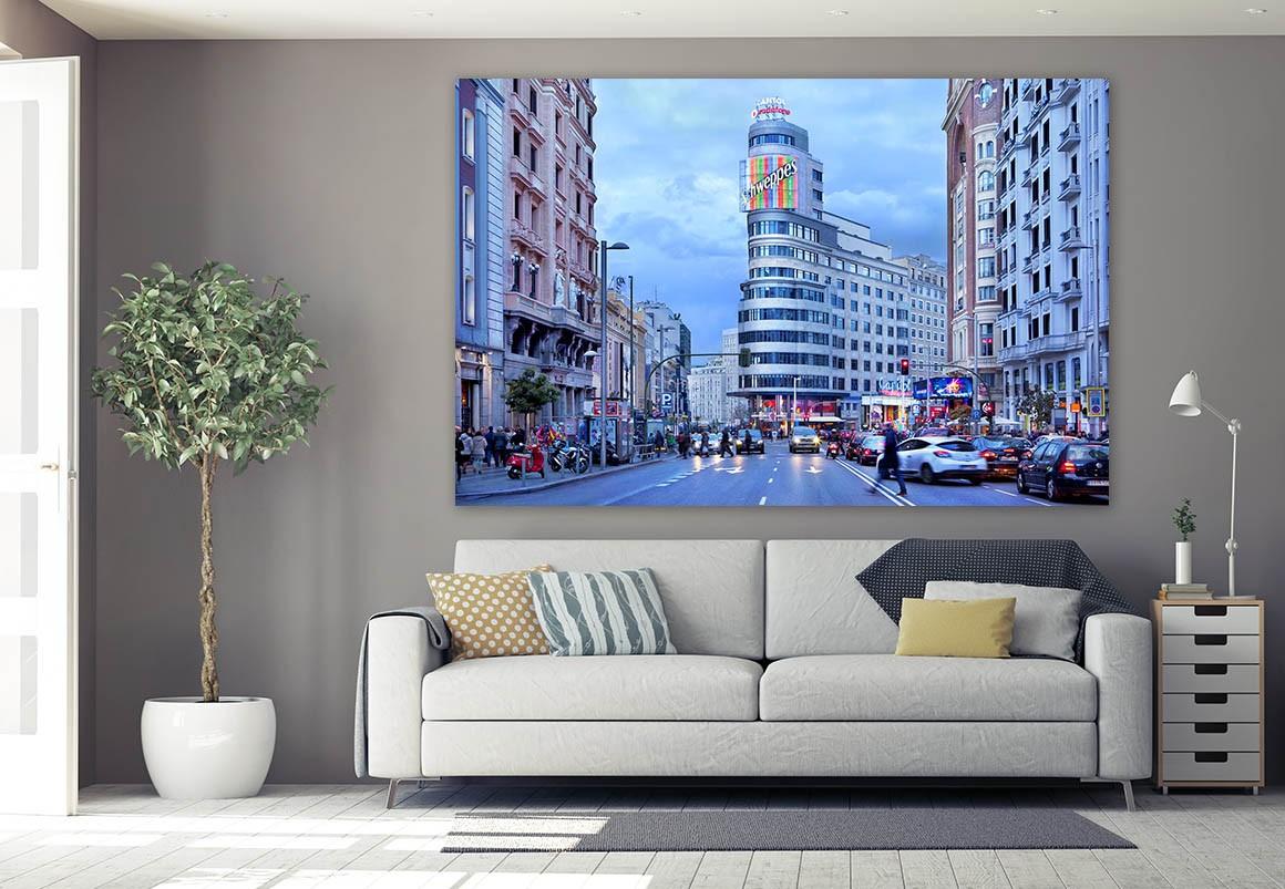 Fotografía de Madrid, Gran Vía