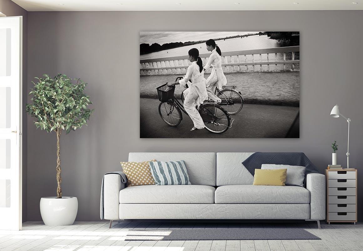 Amigas en bici