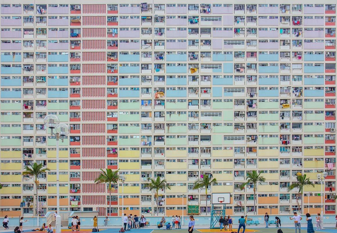 Colorful architecture