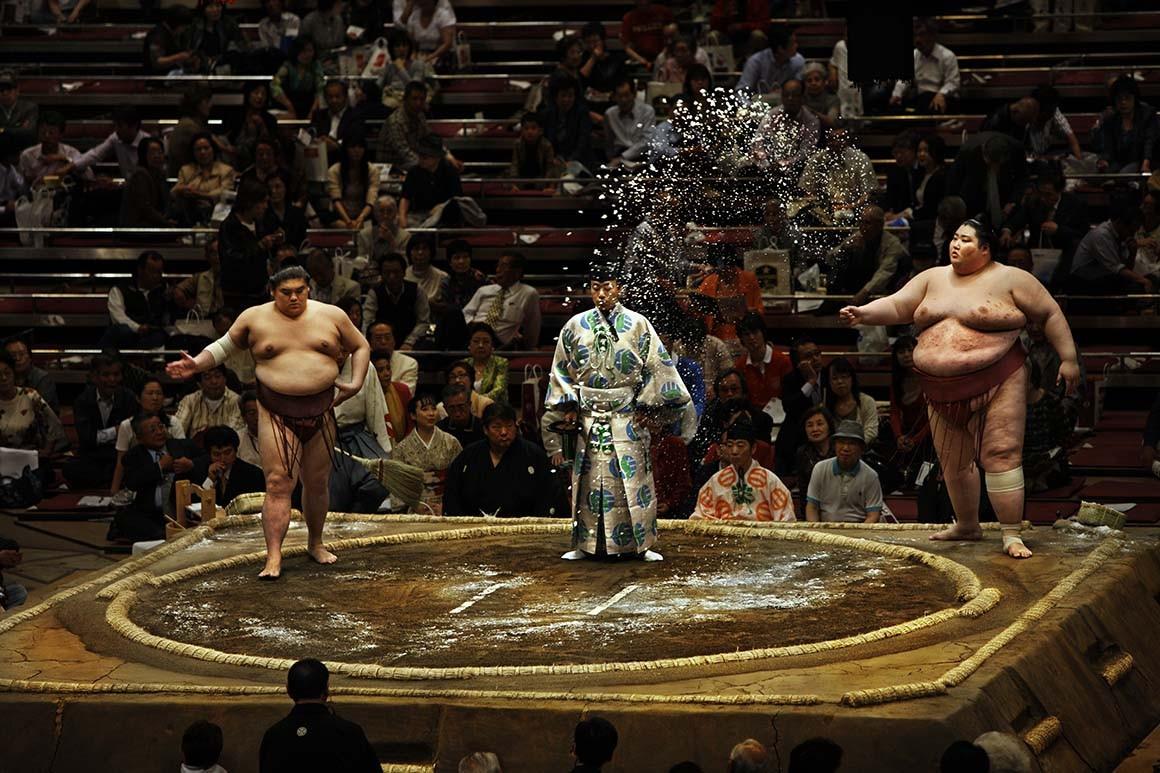 Luchadores de Sumo 3