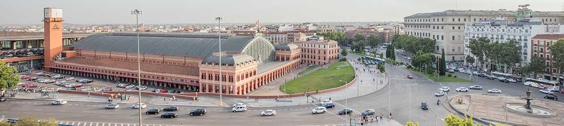 Fotografía de Madrid, Plaza del Emperador Carlos V