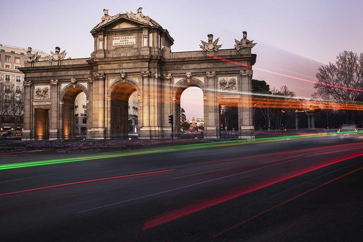 Fotografía de Madrid, Puerta de Alcalá