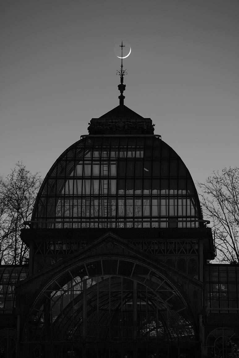 Fotografía de Madrid, Palacio de Cristal