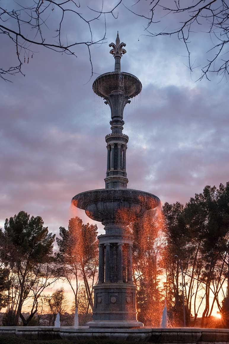 Fotografía de Madrid, Paseo de Camoens