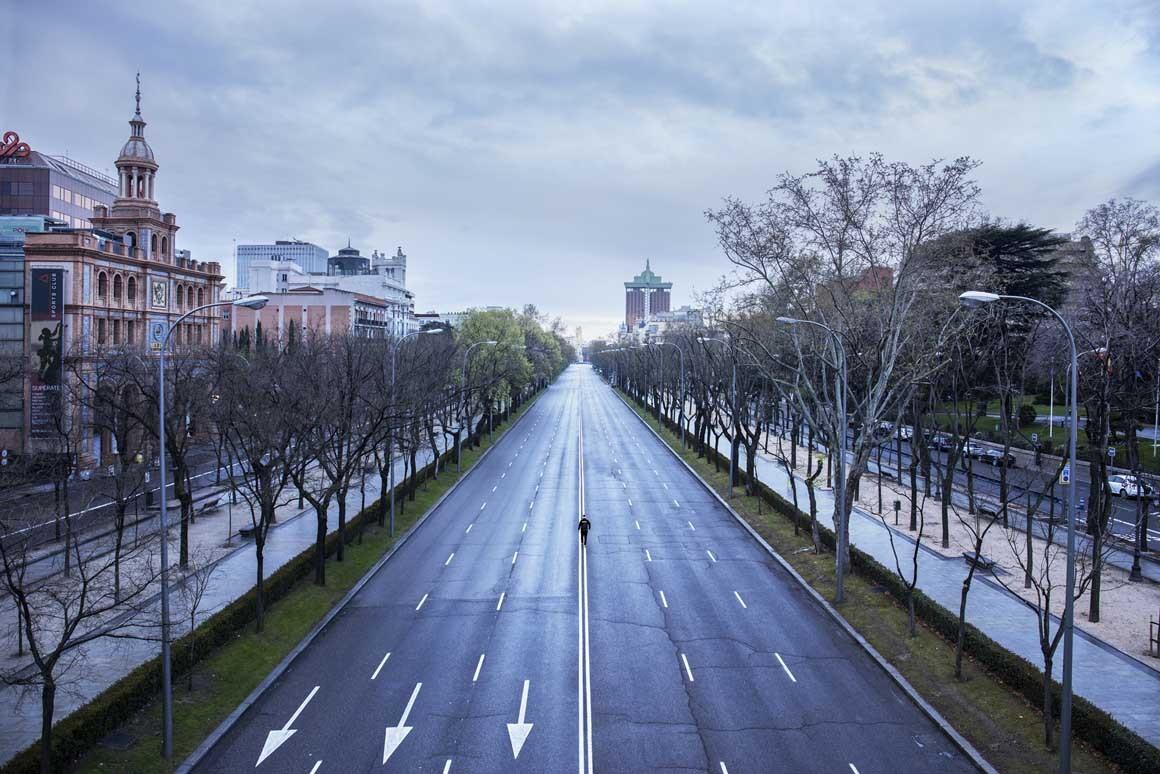 Fotografía de Madrid, La Castellana
