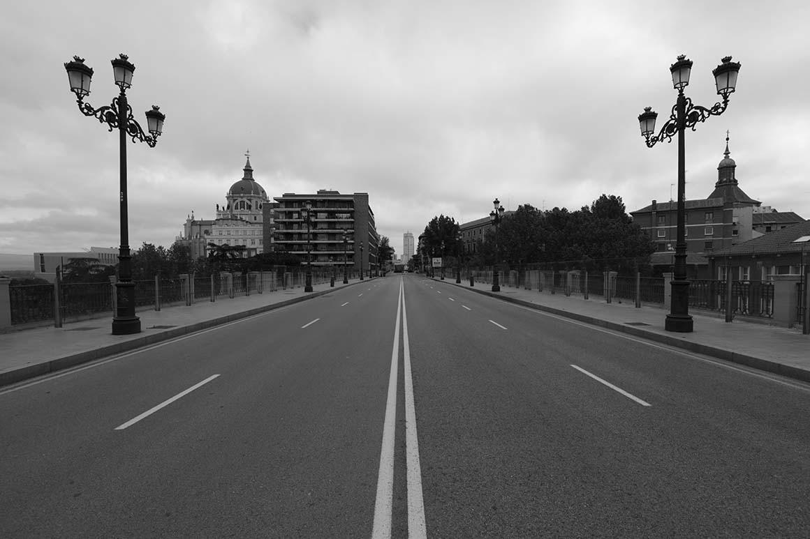 Fotografía de Madrid, Viaducto de Segovia