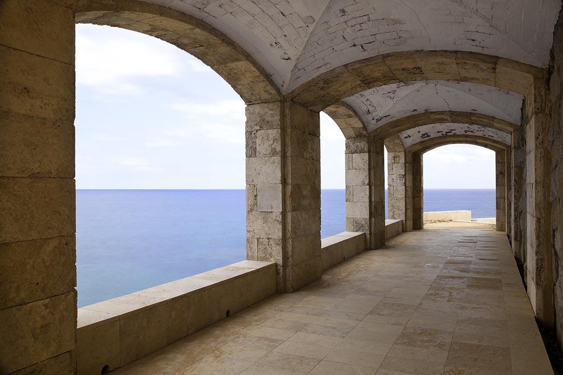 Fotografía artística, Espacio con Mar
