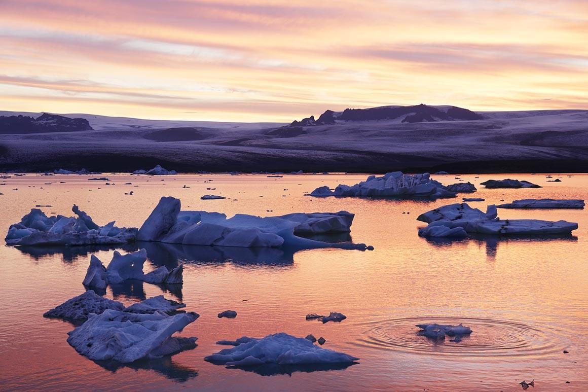 Icebergs a la Deriva