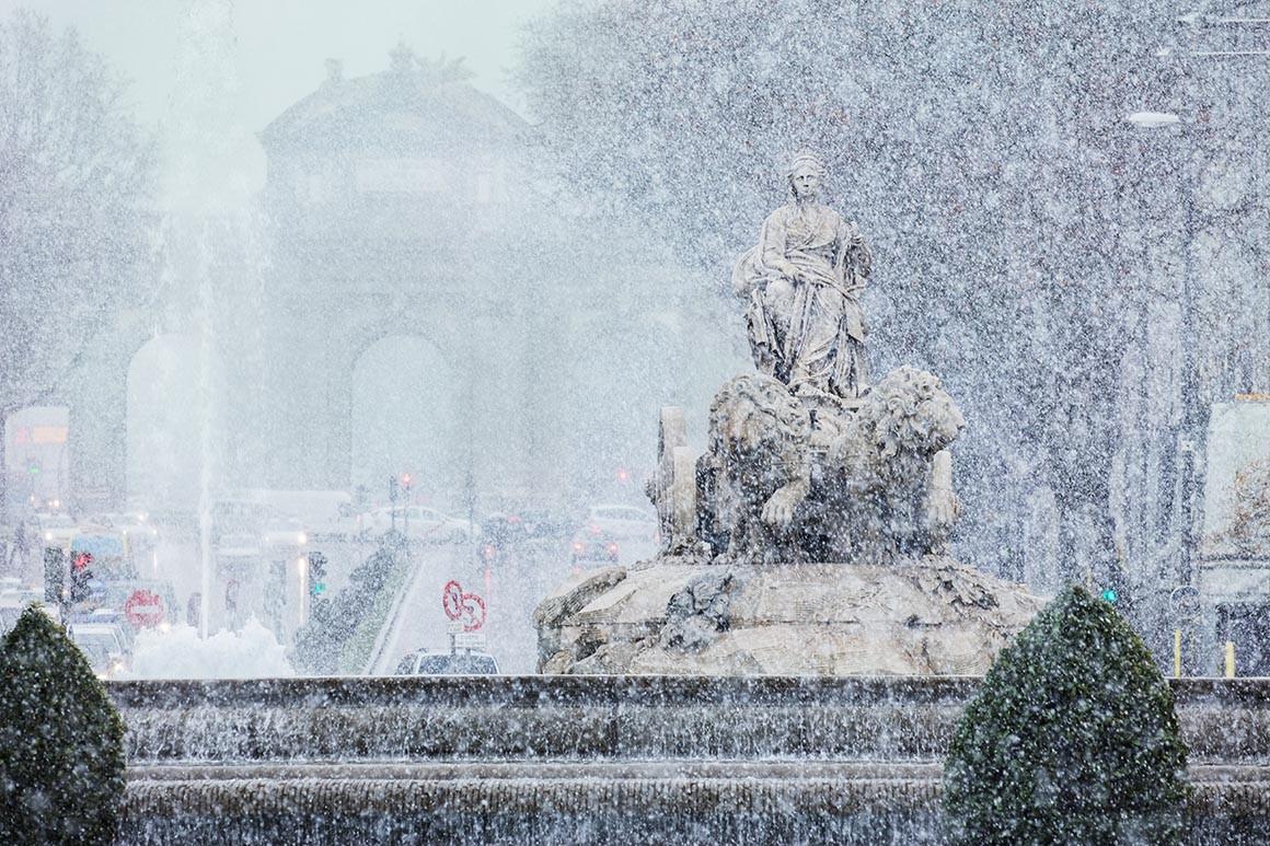 Fotografía de Madrid, Fuente de Cibeles