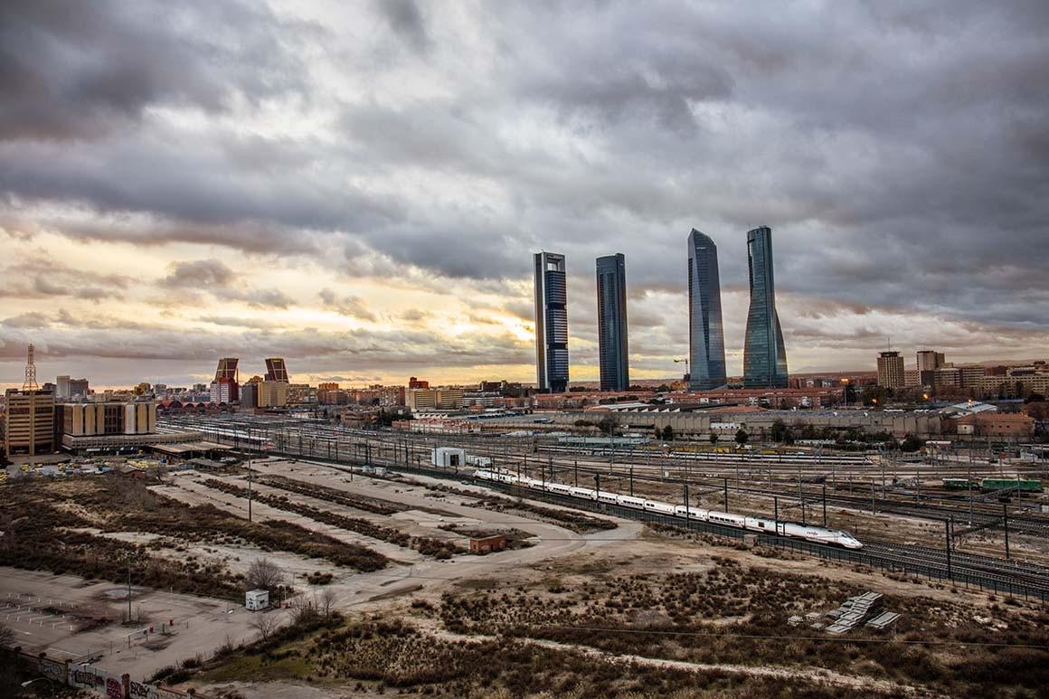Fotografía de Madrid, 4 torres