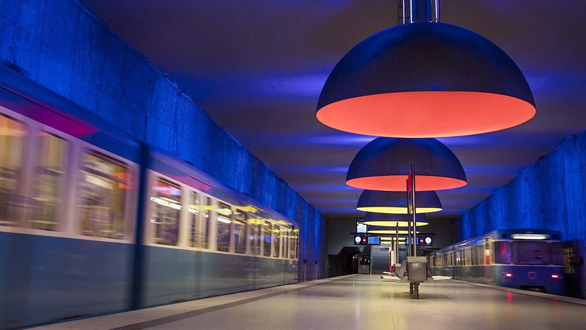 Fotografía artística, New romantic station