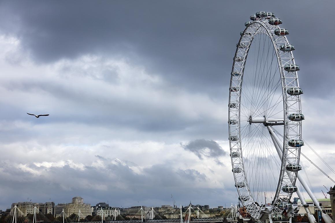 Fotografía artística, London Eye
