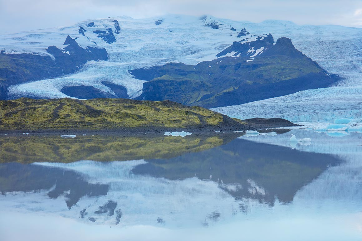 Fotografía artística, Último Glaciar