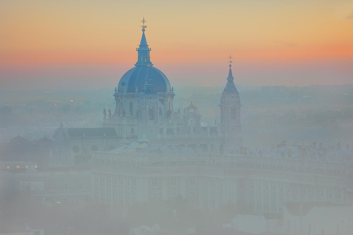 Fotografía de Madrid, La Catedral de la Almudena