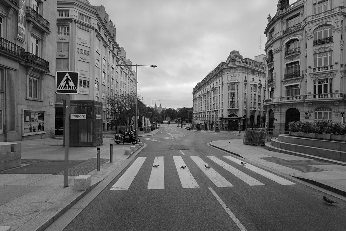 Fotografía de Madrid vacio, The Beatles
