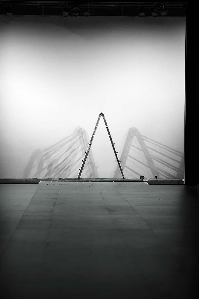 Retrato de Una Escalera