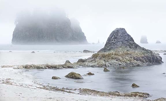 Islote en la Niebla