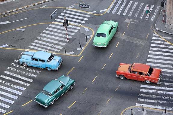 Cruzando La Habana