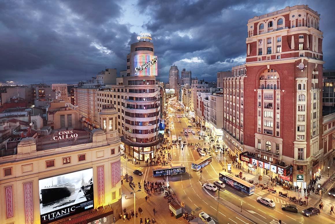 Fotografía de Madrid, Callao