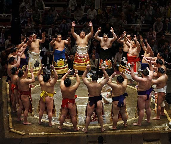 Luchadores de Sumo 1
