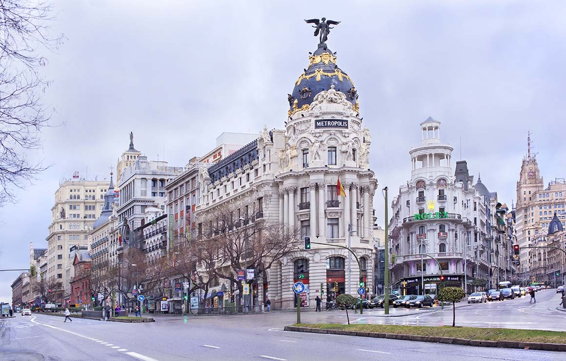 Fotografía de Madrid, Edificio Metrópolis