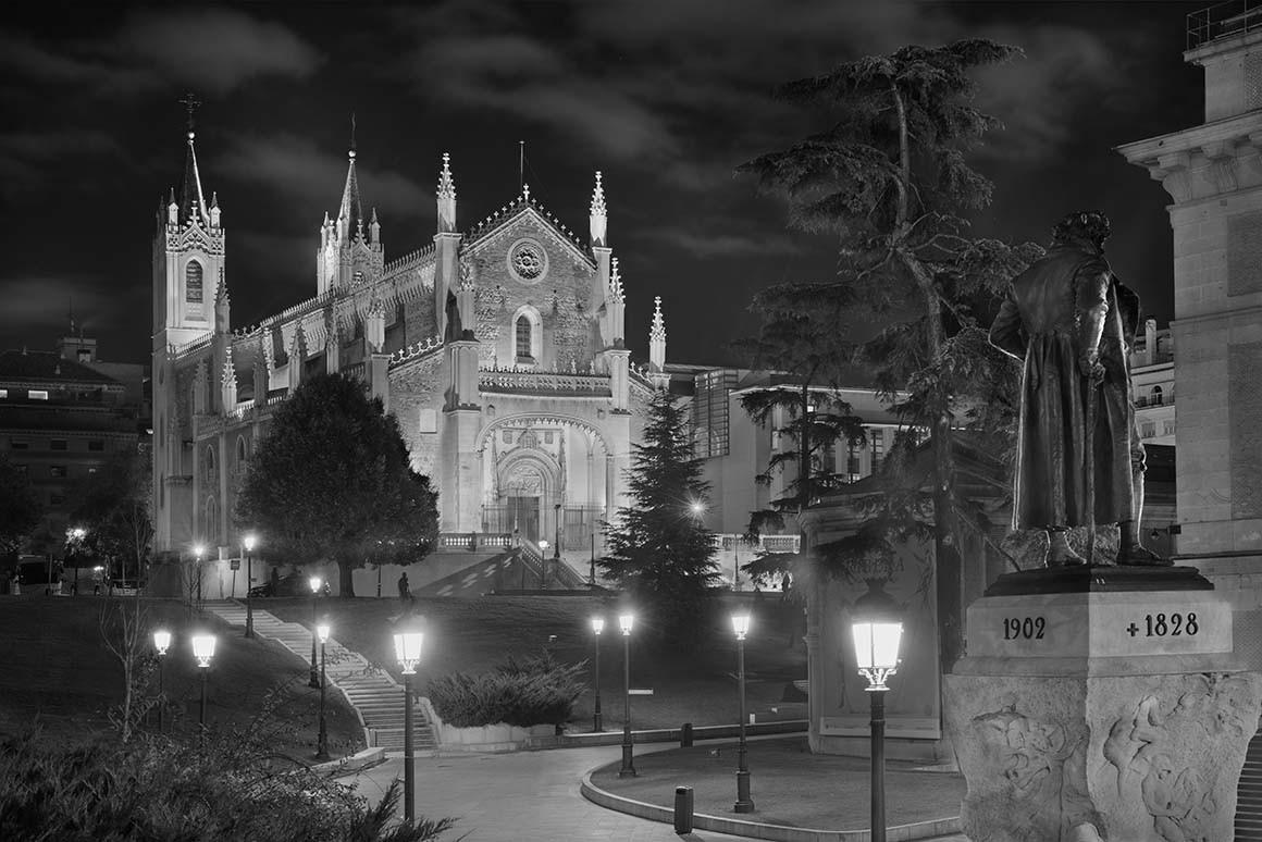 Fotografía de Madrid, Los Jerónimos