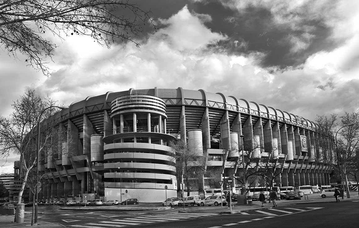 Fotografía de Madrid, Estadio Santiago Bernabéu