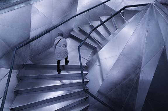 Escalera Geométrica